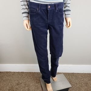 ✿❀ GAP 1969 Navy Blue Corduroy Pants TALL ❀✿